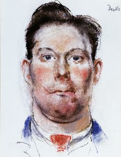"""""""Henry Tonks, 'Portrait of a wounded soldier after treatment', Deeks case file, pastel. Courtesy of the Royal College of Surgeons of England. World War One, First World, Ww2 Posters, Feature Article, English Artists, Military History, Wwi, Printmaking, Illustrators"""