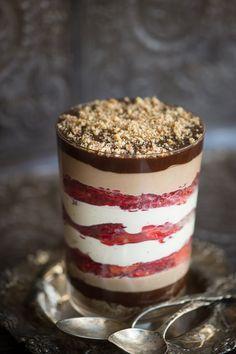 """Raw Strawberry Chocolate """"Trifle"""""""