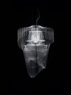 Lampada Aria Transparent, Zaha Hadid, 2015