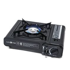 Gas ONE BTU Portable Butane Gas Stove Automatic Ignition Carrying Case, CSA Listed (Stove) - Great price.This GasOne that is r Best Camping Stove, Coleman Camping Stove, Camping Equipment, Camping Gear, Camping Gadgets, Pickup Camping, Lake Camping, Camping Cabins, Backpacking Meals
