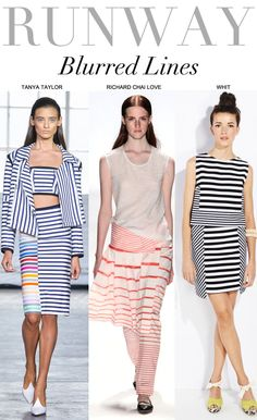 Trend Council #stripes #spring #summer #2014 #trends
