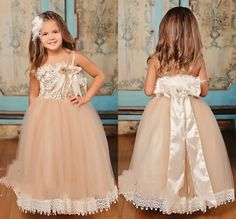 Find More Flower Girl Dresses Information about Kid Dress 2015 Little Girls Pageant Dresses Scoop Tulle With Lace Appliques And Fearther Princess Flower Girl Dresses AB49,High Quality dress screen,China dress punk Suppliers, Cheap dresses fit from Suzhou Romantic Wedding Dress Co. Ltd on Aliexpress.com