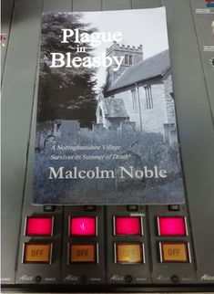 Plague in Bleasby featured on the radio Crime Fiction, Mystery Novels, Survival, Mystery Books