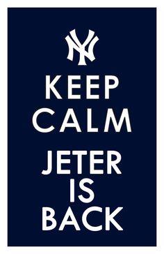 Keep Calm ... Jeter