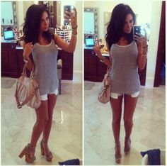 Jennifer Stano's Blog Date Outfits, Chic Outfits, Fashion Outfits, Cute Summer Outfits, Spring Outfits, Summer Dresses, Summer Chic, Spring Summer Fashion, I Love Fashion