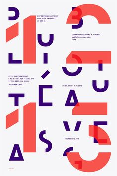 emanuel cohen - typo/graphic posters