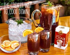 Iced tea is always deliciously refreshing and here's our secret recipe for giving it a spicy twist. Rooibos Chai, Luxury Chocolate, Secret Recipe, Iced Tea, Dairy Free, Spicy, Good Food, African, Sweets