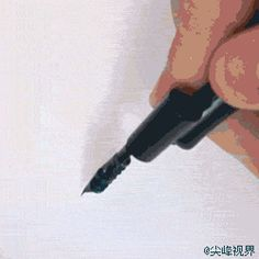 手写体的写法