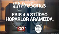 Adaptasyon ve uyum onun vazgeçilmezleri. Presonus Eris 4.5 en uygun fiyat avantajlarıyla aramızda. http://www.gitarpazar.com/PRESONUS-ERIS-E4-5-Studyo-Hoparlor