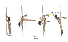 Learn How To Pole Dance From Home With Amber's Pole Dancing Course. Why Pay More For Pricy Pole Dance Schools? Pole Fitness Moves, Pole Fitness Classes, Pole Classes, Pole Dance Moves, Pole Dancing Fitness, Dance Tips, Dance Fitness, Aerial Hoop, Aerial Arts