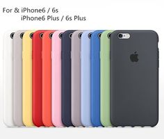 Original Ultra-Thin Silicone Back Case Cover For Apple Iphone 6 6S   6S Plus b0bfc523e3d38