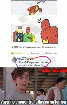 Memes Marvel - Wall Tutorial and Ideas Memes Marvel, Avengers Memes, Marvel Funny, Marvel Comics, Thor Meme, Manga Comics, Memes Humor, Funny Jokes, Funny Images