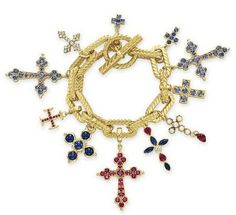 Bid in-person or online for the upcoming auction:The Collection of Elizabeth Taylor: Jewelry (II) on 14 December 2011 at New York Wallis Simpson, Cross Jewelry, Charm Jewelry, Geek Jewelry, Jewelry Box, Jewelry Necklaces, Bijou Charms, Antique Jewelry, Vintage Jewelry