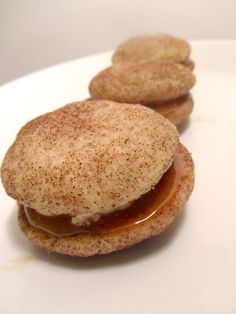 Snickerdoodle cookie sandwiches