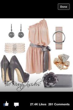Luv pink n grey together
