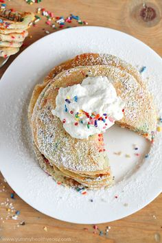 Start your day off right with Funfetti for breakfast.