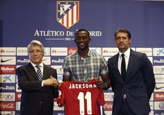 Jackson Martinez (COL) - From FC Porto (POR) to Atletico Madrid (ESP) - £25 million - 2015
