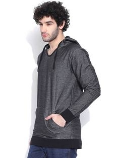 Dream of Glory Inc. Charcoal Grey Hooded T-shirt