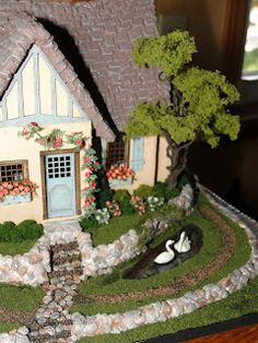 Never Enough Time: fairy tale house