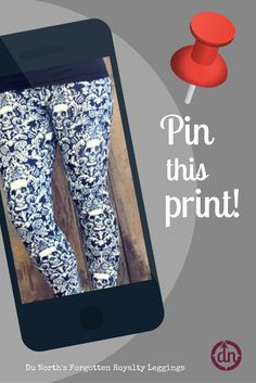 This print is one of our high demand leggings!
