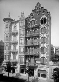 Casa Domènech i Estapà (1909) - Barcelona, historia en imágenes. - ForoCoches