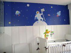 Decoração Astronauta Quarto Bebê