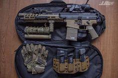 norseminuteman:  Handl Defense SCAR-17 SBR.