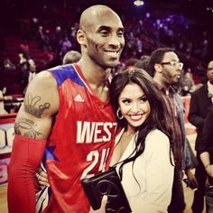 kobe bryant wife | Kobe Bryant and his wife Vanessa