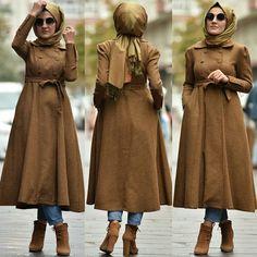 Modern Hijab Fashion, Abaya Fashion, Modern Outfits, Muslim Fashion, Modest Fashion, Fashion Outfits, Hijab Gown, Hijab Style Dress, Casual Hijab Outfit