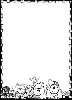 v Borders For Paper, Borders And Frames, Dj Inkers, Colouring Pages, Coloring Books, Beautiful Love Pictures, Quiet Book Templates, Birthday Charts, Christmas Stationery
