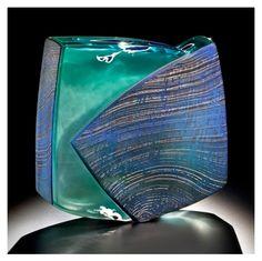 'Aqua Urbanism'  Art-Glass Sculpture by Ethan Stern♥♥