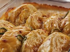 Escalloped Cabbage Casserole recipe from Ree Drummond via Food Network