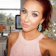 Jaclyn Hill. Such a clean natural make up look. LOVE HER