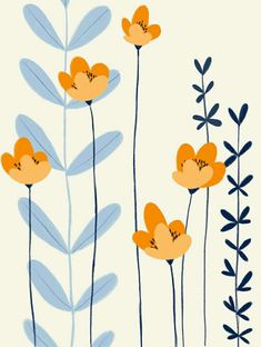 Gold Blue Flower Garden Drawing, In order to have a great Modern Garden Decoration, it's … Art Floral, Motif Floral, Flower Graphic, Floral Patterns, Floral Design, Flower Garden Drawing, Flower Art, Drawing Flowers, Flowers Garden