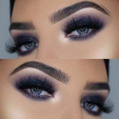 Makeup Inspo, Makeup Tips, Beauty Makeup, Glitter Eye Makeup, Eyeshadow Makeup, Glitter Wedding, Wedding Make Up, Most Beautiful Eyes, Wedding Makeup Looks