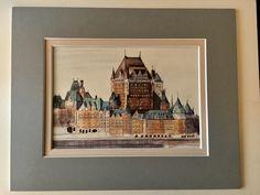 Château Frontenac. En aquarelle 🎨