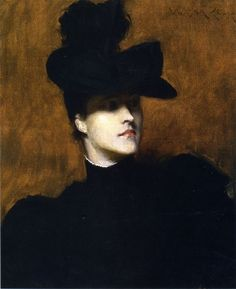 Lydia Field Emmet  by William Merritt Chase