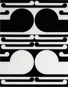 Gordon Walters, Study for Auckland City Art Gallery Poster, 1982 Maori Designs, Geometric Designs, Post Painterly Abstraction, Maori Patterns, Deco Paint, New Zealand Art, Nz Art, Colour Field, Maori Art