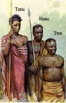 The Tutsi's were originally known as the Cushite. They were a community of people who migrated to Rwanda from the Southern Ethiopian highlands. They were physically much taller and thinner than the Twa people. Throughout all historic documentation, the Tutsi population has never exceeded 15%. Despite their low numbers, they were a highly intelligent and functional people.