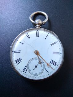 Stunning solid sterling silver pocket watch from 1865!  https://www.etsy.com/uk/listing/523743204/1865-hallmarked-sterling-silver-pocket?ref=shop_home_feat_3  #sterlingsilver #pocketwatch #solidsilver #sherlockholmes #greatgatsby #19thcentury #antiques #oharesantiques #etsy #watch #luxury #madeinbritain #victorian