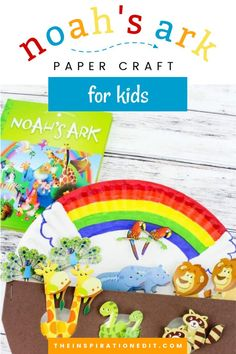 Storytelling could be more fun and engaging with this Noah's Ark Craft for Kids. Your little ones will enjoy this bible story with this fantastic kids paper plate craft. Try making this one today! #noah'sarkcraftkids #biblestorycraftsforkids #noahsarkcraft #noah'sarkcraftforpreschool #paperplatecraft Toilet Paper Crafts, Paper Plate Crafts For Kids, Bible Crafts For Kids, Summer Crafts For Kids, Craft Activities For Kids, Preschool Crafts, Craft Ideas, Bible Story Crafts, Book Crafts