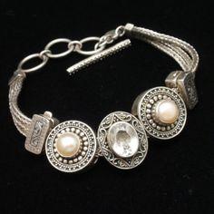 Lori Bonn Sterling Silver Bracelet Contemporary