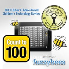2013 Editor's Choice Award http://childrenstech.com/blog/archives/10994 http://fuzzybees.com