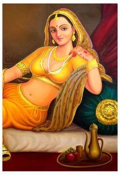 Handmade Art Oil Painting  http://www.rajrang.com/home-decor/painting/rajasthani-painting.html
