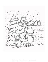 76 Best Printable Christmas Coloring and Activity Pages