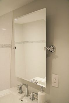 Grafton Rectangular Pivot Mirror Baths Pinterest Garage Office Blue Bath And Powder Room