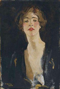 .:. John Lavery, Portrait of Violet Trefusis, 1919