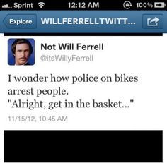 Not Will Ferrell Funny Tweet