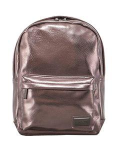 Look what I found on Metallic Pewter Pantone Backpack by Redland + Pantone Backpack Travel Bag, Mini Backpack, Laptop Backpack, Leather Backpack, Rucksack Backpack, Laptop Bags, Metallic Backpacks, Brown Backpacks, Buy Cosmetics Online