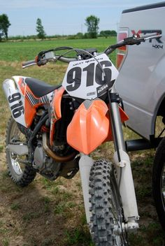 KTM; dirt biking